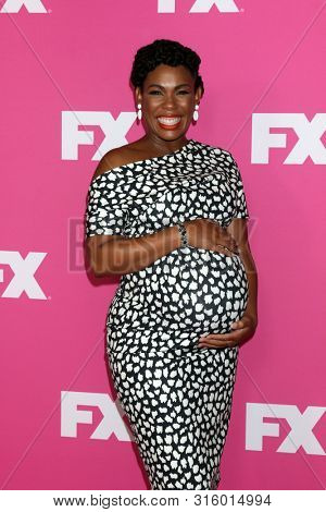 LOS ANGELES - AUG 6:  Angela Lewis at the FX Networks Starwalk at Summer 2019 TCA at the Beverly Hilton Hotel on August 6, 2019 in Beverly Hills, CA