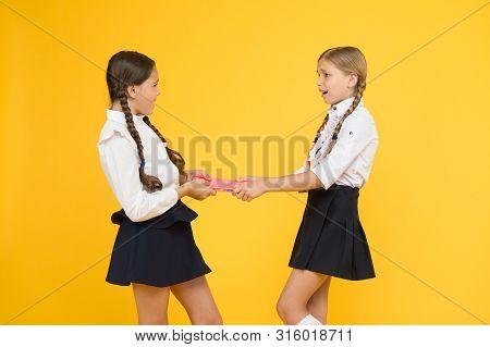 Schoolgirls Fight For Book. Protect Property. Greedy Friends. Greedy Competitors. Jealous Friend. Gr