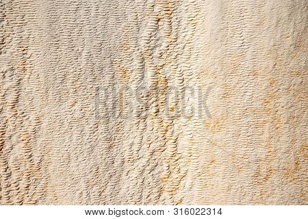 Natural Surface Of Calcite And Limestone, Background For Design