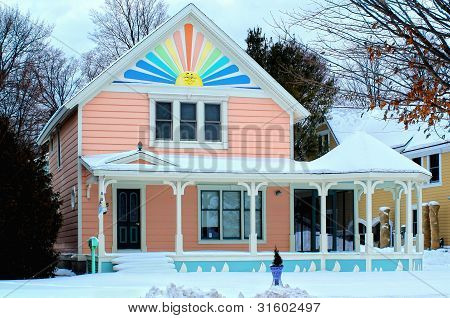 Summer House in Winter