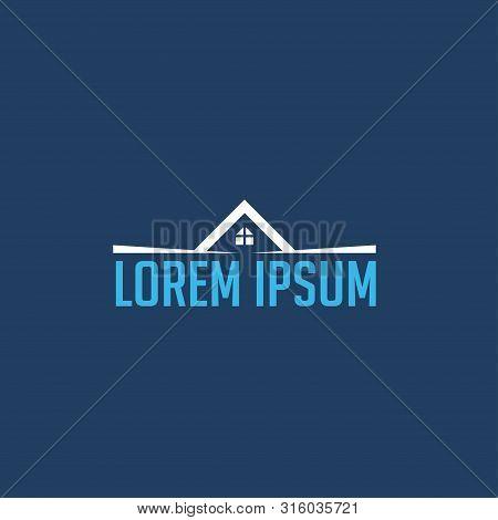 Real Estate Home Logo Template Icon Vector