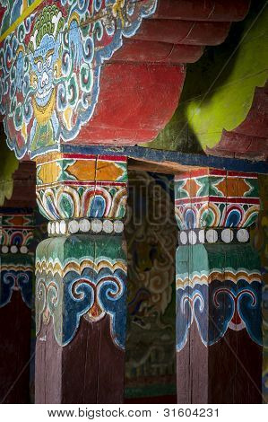 Monastery Architecture Detail