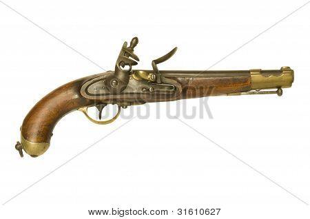 Revolutionary War Flintlock Pistol