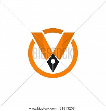 V Logo Images  Stock  Vectors Business Vector