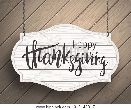 Thanksgiving Day Sale Banner. Celebration Quote