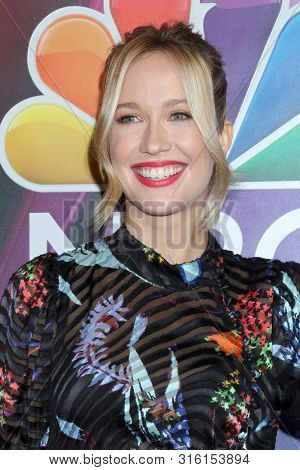 LOS ANGELES - AUG 8:  Anna Camp at the NBC TCA Summer 2019 Press Tour at the Beverly Hilton Hotel on August 8, 2019 in Beverly Hills, CA