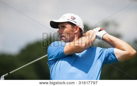 Padraig Harrington At The 2011 Us Open