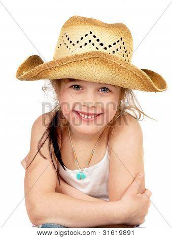 Happy Little Pretty Cowgirl