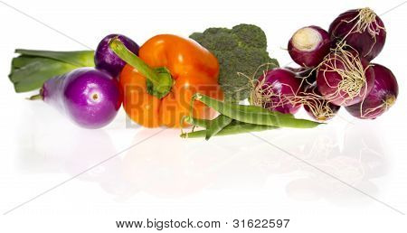 Ingredients: Fresh Vegetables