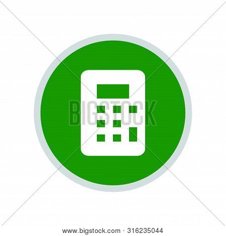 Calculator Icon, Calculator Icon Round, Calculator Icon Circle, Calculator Icon Eps, Calculator Icon
