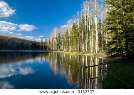 Glassy Vacation Lake