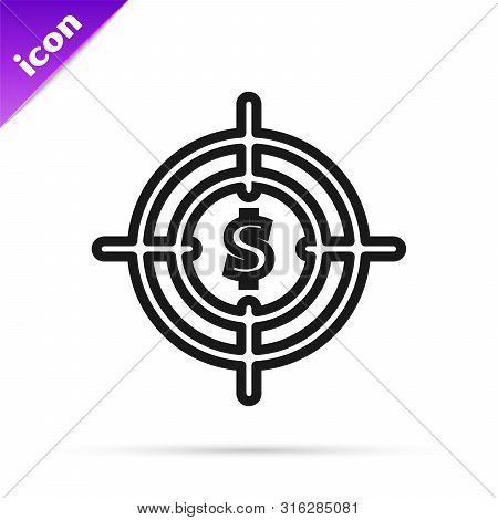 Black line Clock 24 hours icon isolated on white background. All day cyclic icon. 24 hours service symbol. Vector Illustration poster