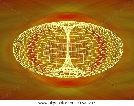 Wormhole Diagram