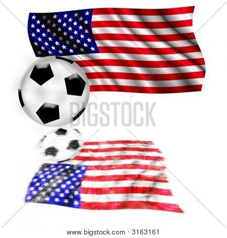 Football Flag USA