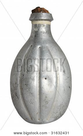 Old Military Flask