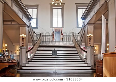 Foyer And Stairs