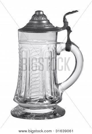 Nostalgic Glass Tankard