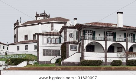 Architectural Scenery At Ponta Delgada