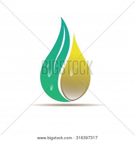 Design The Cannabis Oil Icon Drops Of Hemp Oil. Cbd Cannabis Oil Extract. Product Label Icon And Log