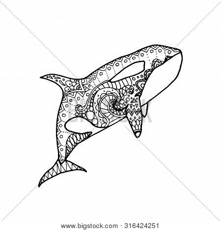 Orca Whale Coloring Pages. killer whale coloring page kids play ...   470x450