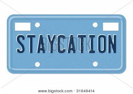 machen Sie einen Ausflug staycation