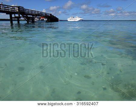 Views of Jinek Bay from Easo, Lifou, Loyalty Islands, Noumea.