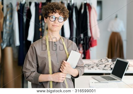 Successful entrepreneur and owner of fashion studio