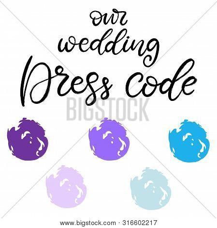 Wedding Dress Code Vector Photo Free Trial Bigstock