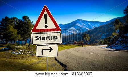 Street Sign To Startup