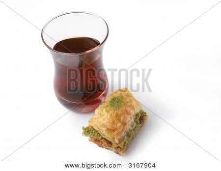 Baclava And Tea