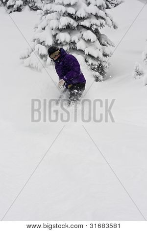Deep Powder Riding