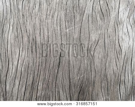 Wood Texture With Natural Pattern.natural Old Cracked Wood Surface. Texture Background.
