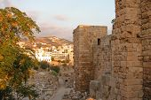Byblos (jbeil) archaeological place in Beirut Lebanon poster
