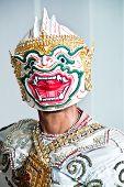 """Thai Cultural Show Hanuman """"Khon-Thai classical masked ballet Thailand. Ramayana Story"""" poster"""