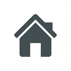 House Icon, House Icon Jpg, House Icon Art, House Icon Eps, House Icon Flat . House Icon Trendy And