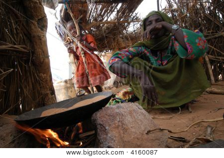 Cooking In Camp