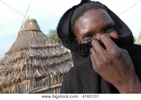 Female Displaced In Darfur