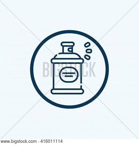 Spray Icon Isolated On White Background From Pharmacy Collection. Spray Icon Thin Line Outline Linea