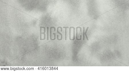 Handmade, Hand Drawn. Pale Gray Pastel Neutral Watercolor Texture. Abstract Painted Background. Hori