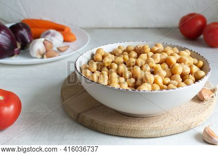 How To Make A Cutlet For Veggie Chickpea Burger At Home. Step By Step Instruction. Step 1. Soak The