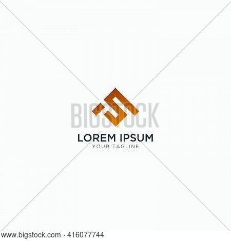 S A Logo Design Letter Sa Monogram