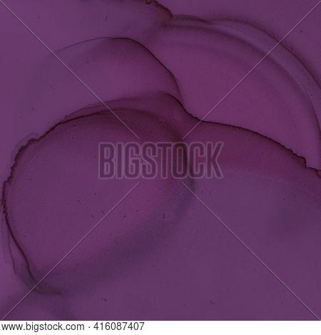 Burgundy Wine Background. Watercolour Template. Modern Gradient Splash. Purple Ink Paper. Burgundy W
