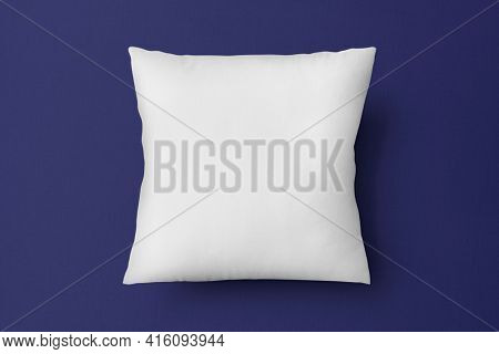 Cushion pillow cover in white