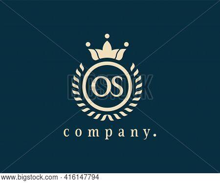 Monogram Design Elements, Graceful Template. Letter Os, O Or S Elegant Logo Design For Royalty, Busi