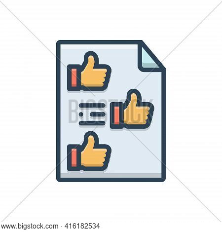Color Illustration Icon For Fanpage Button Click Enrol Subscribe