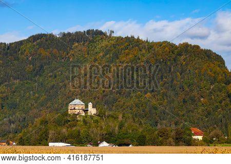 Haimburg castle in Carinthia region, Austria
