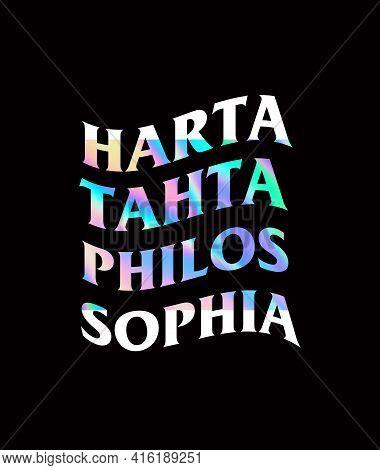 Harta tahta philos sophia or treasure throne of philosophy