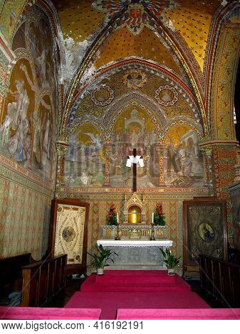 Budapest, Hungary - 12 Jun 2011: Matthias Church In Budapest, Hungary