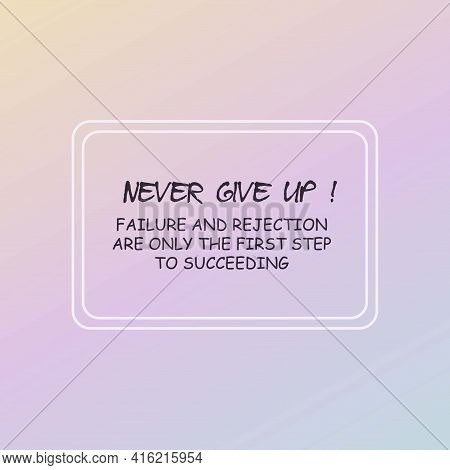 Inspirational Quotes On Pastel Color Backgrounds