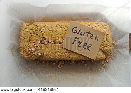 Gluten-free Corn And Oat Bread And Self-signed